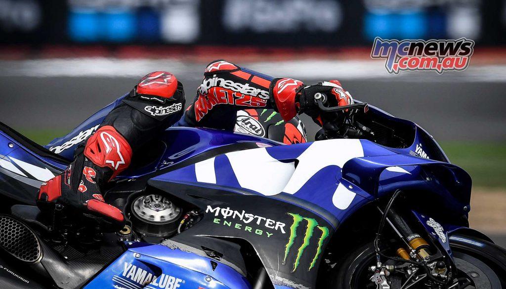 MotoGP Silverstone Fri Vinales