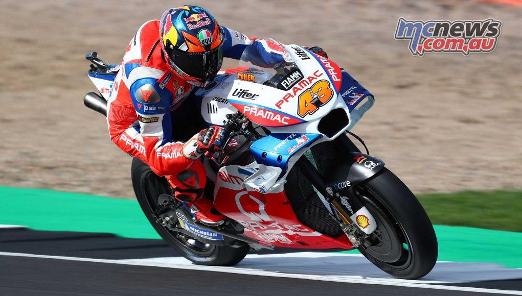 MotoGP Silverstone Miller GP AN Cover
