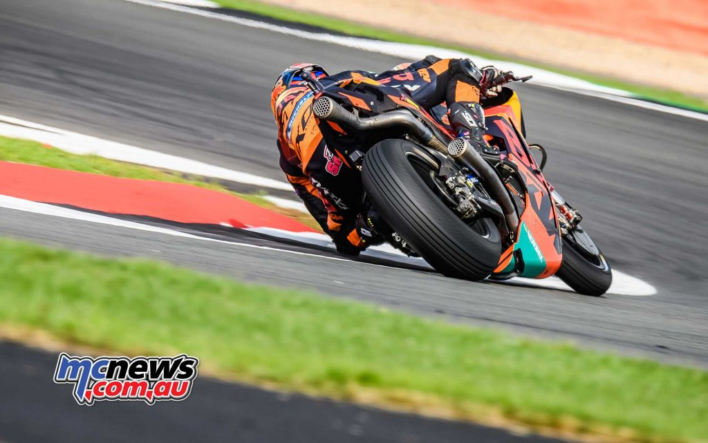 MotoGP Silverstone QP Bradley Smith