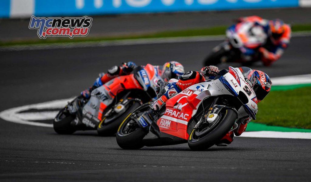 MotoGP Silverstone QP Danilo Petrucci