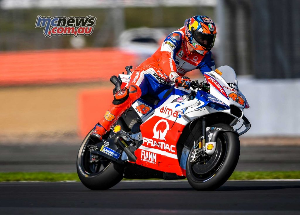 MotoGP Silverstone QP Jack Miller