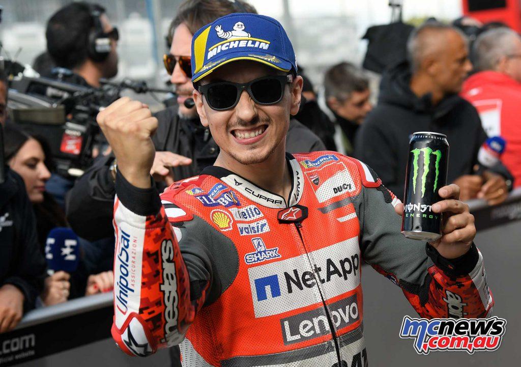 MotoGP Silverstone QP Lorenzo