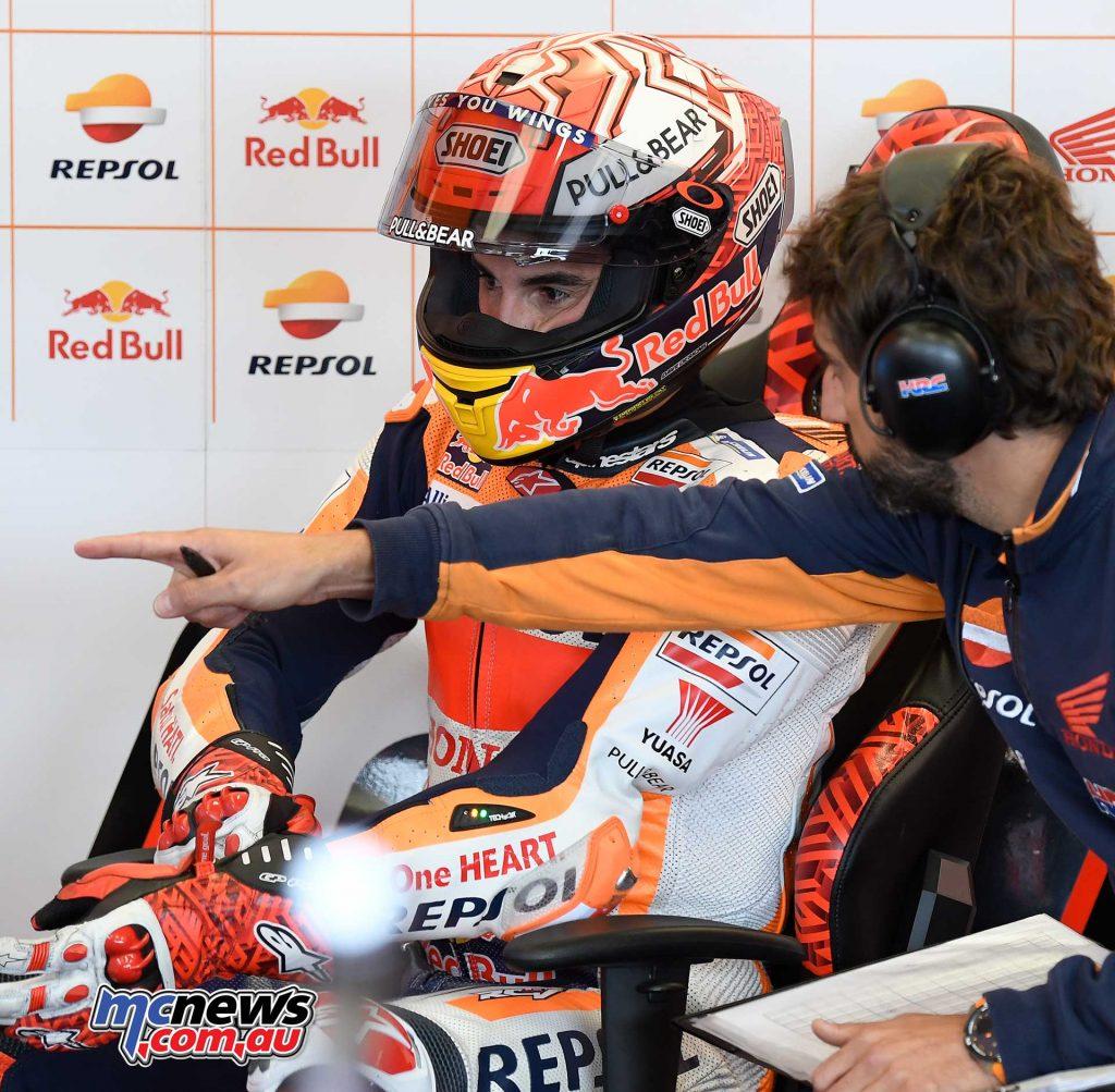 MotoGP Silverstone QP Marquez