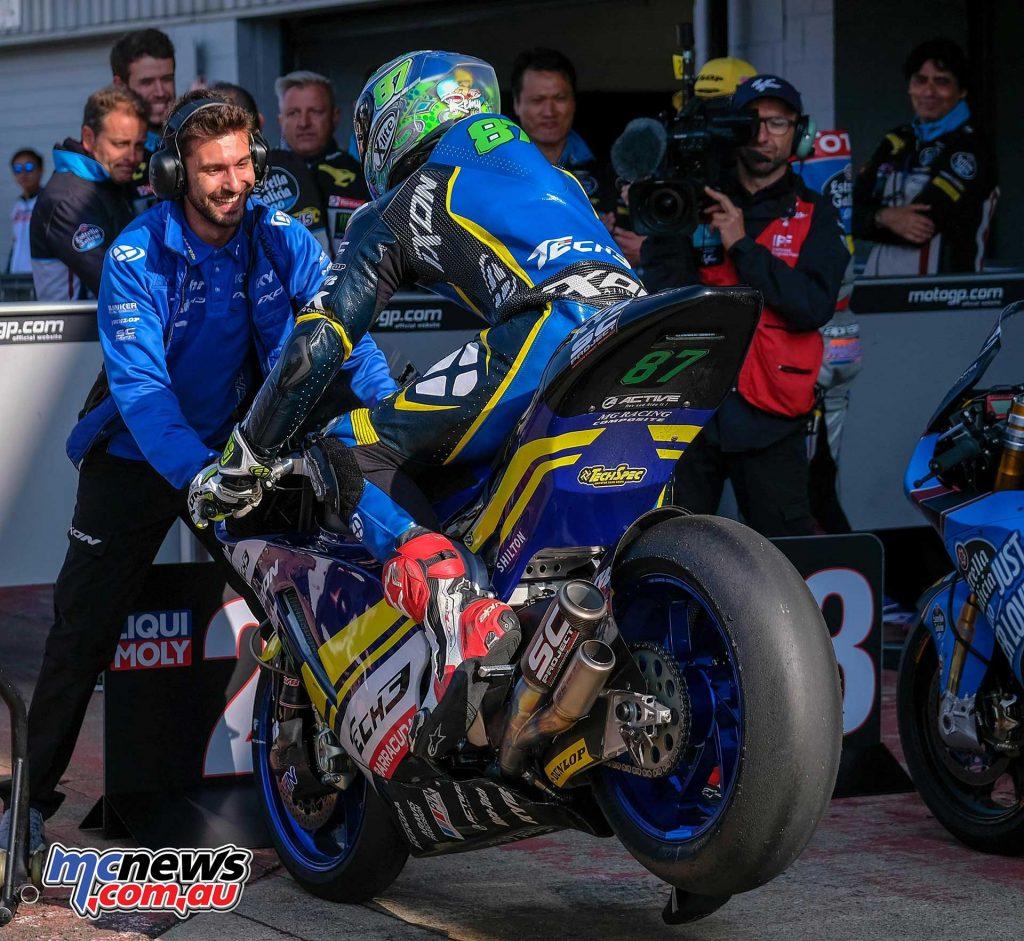 MotoGP Silverstone QP Moto Remy Gardner
