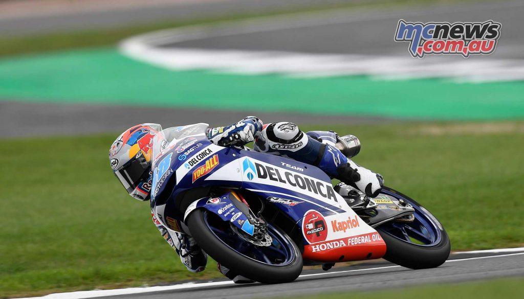 MotoGP Silverstone QP Moto Jorge Martin