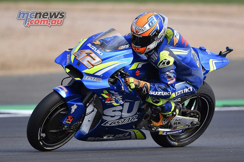 MotoGP Silverstone QP Rins