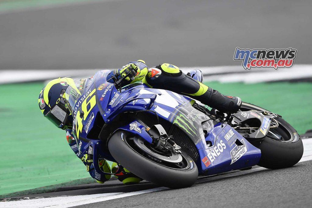 MotoGP Silverstone QP Rossi