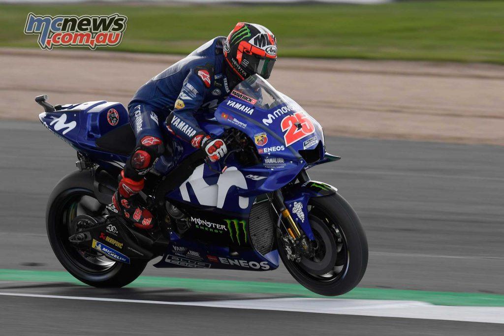 MotoGP Silverstone QP Vinales