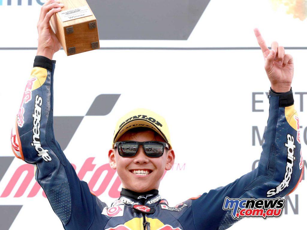 Red Bull Rookies Austria R Ryusie Yamanaka Win