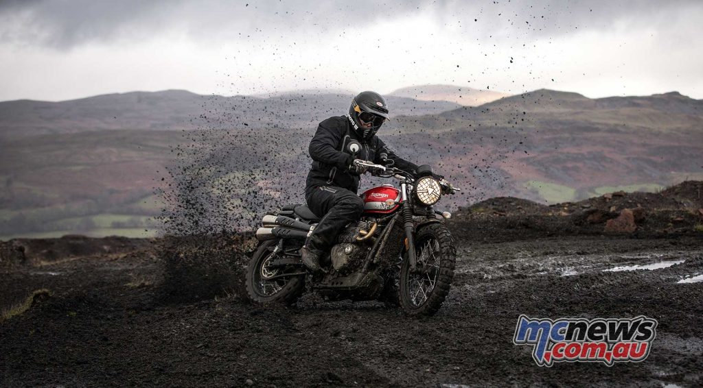 Triumph Adventure Experience Scrambler