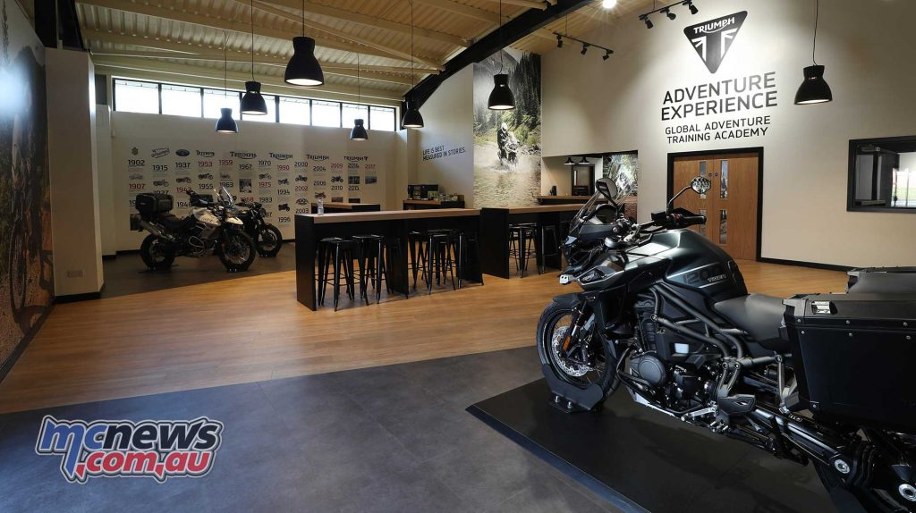 Triumph Adventure Experience Showroom