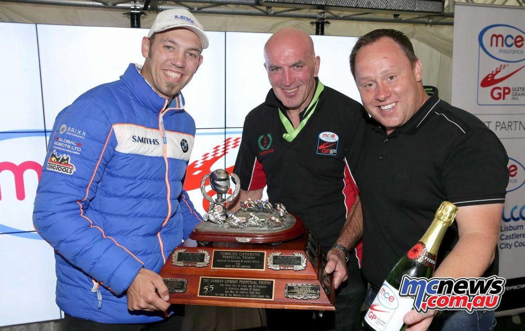 Ulster GP Peter Hickman Man Of Meeting