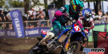 mx nationals coolum rnd mxd bailey malkiewicz leans into corner ImageScottya Cover