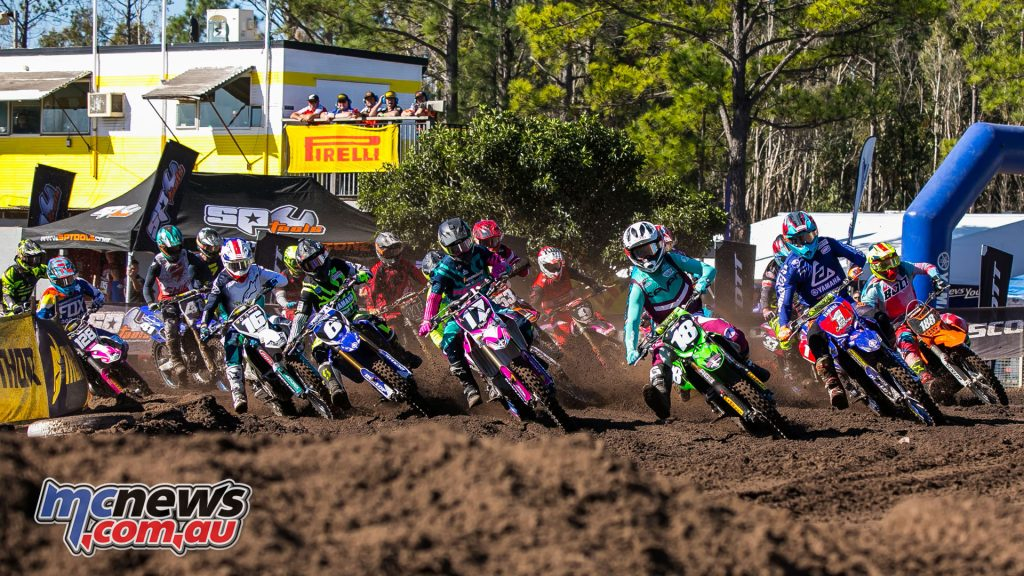 mx nationals coolum round mx start moto ImageScottYa
