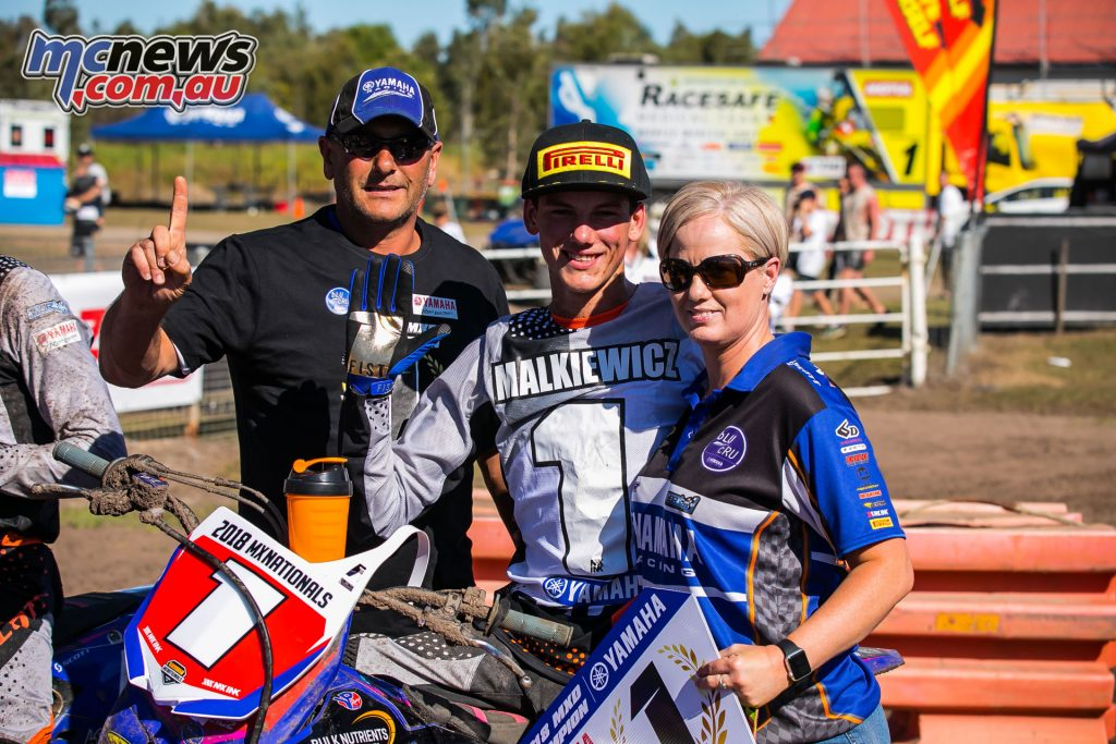 mx nationals coolum round mxd bailey malkiewicz winner ImageScottYa