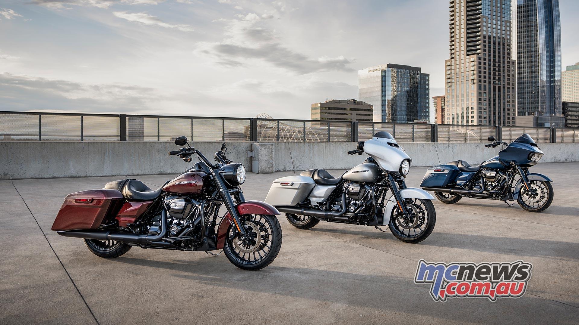 2019 Harley-Davidson CVO range unveiled | 117 cube | MCNews