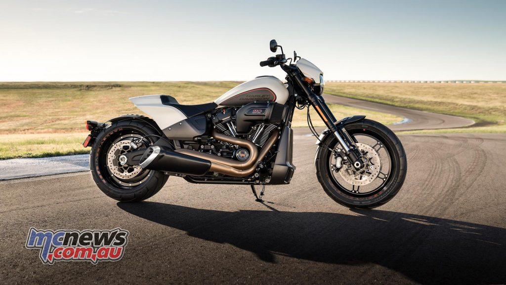 Harley Davidson FXDR side view