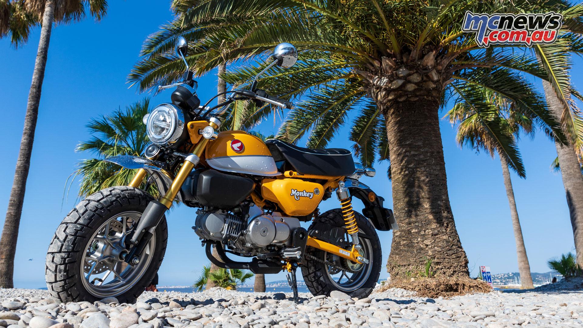 Monkey Magic Honda Monkey 125 Bike Arrvies At 4999 Mcnews Com Au