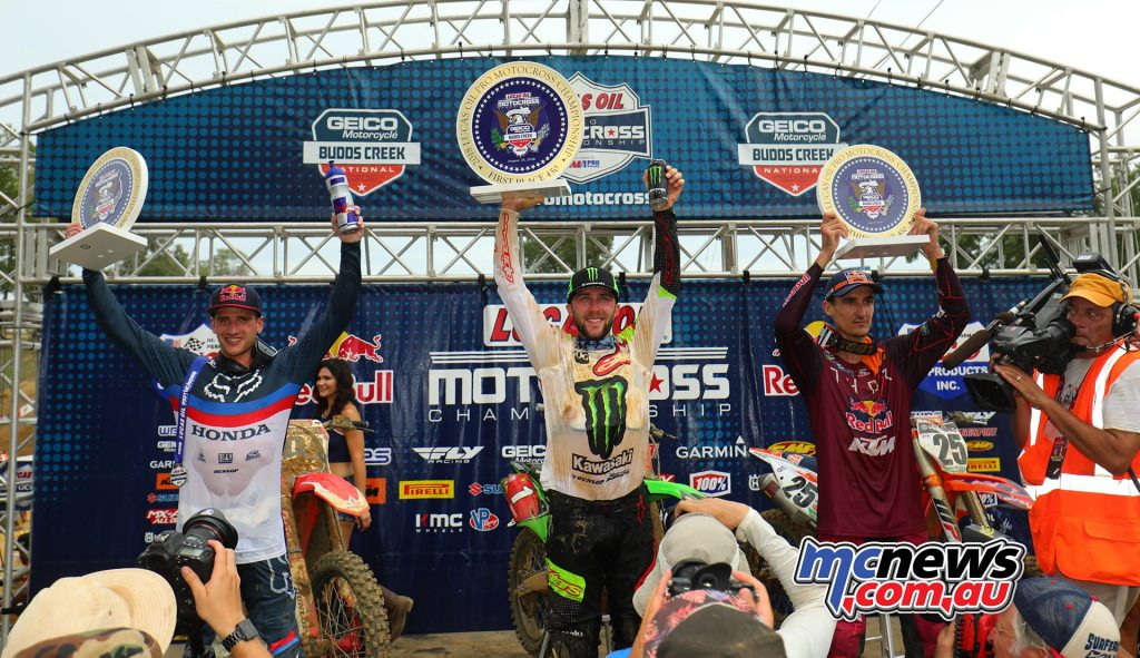 AMA MX Rnd Budds Creek Podium JK
