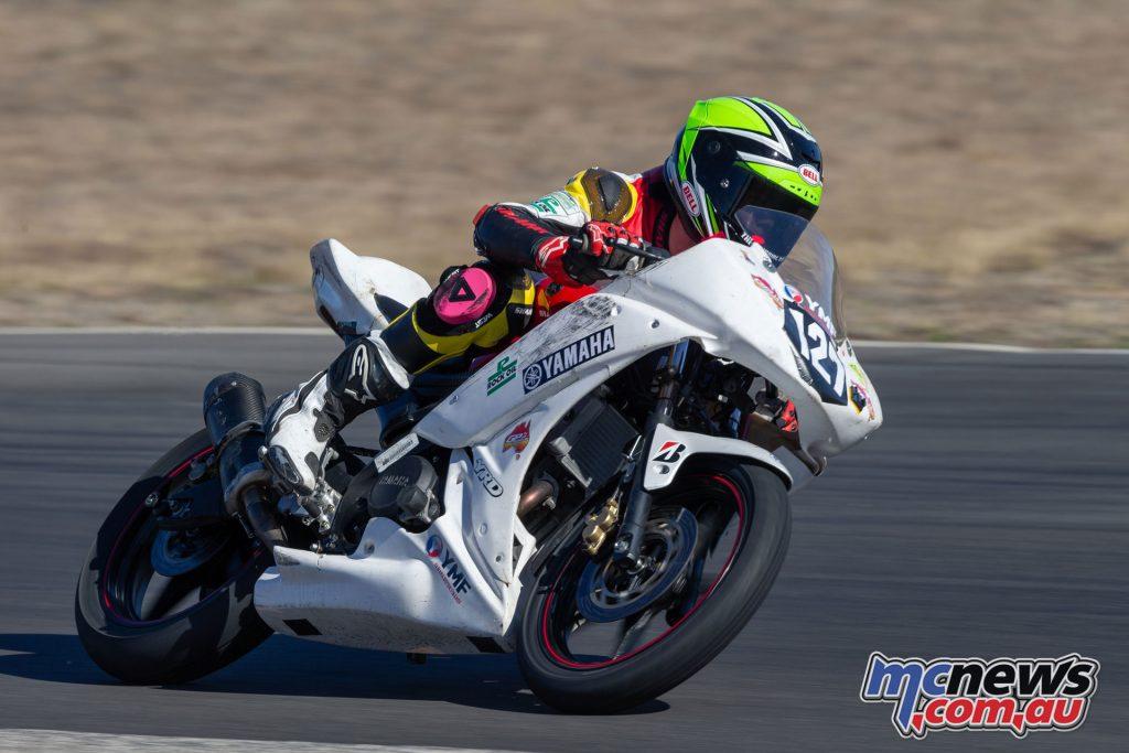 ASBK Morgan Park Rnd GP Juniors Max Stauffer