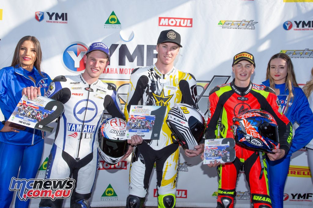 ASBK Morgan Park Rnd YMF R Cup Overall