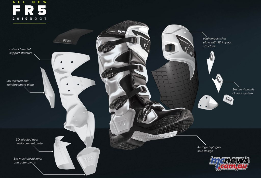 Fly Racing FR Boots Tech