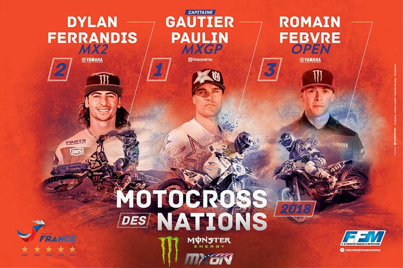 French MXoN Team