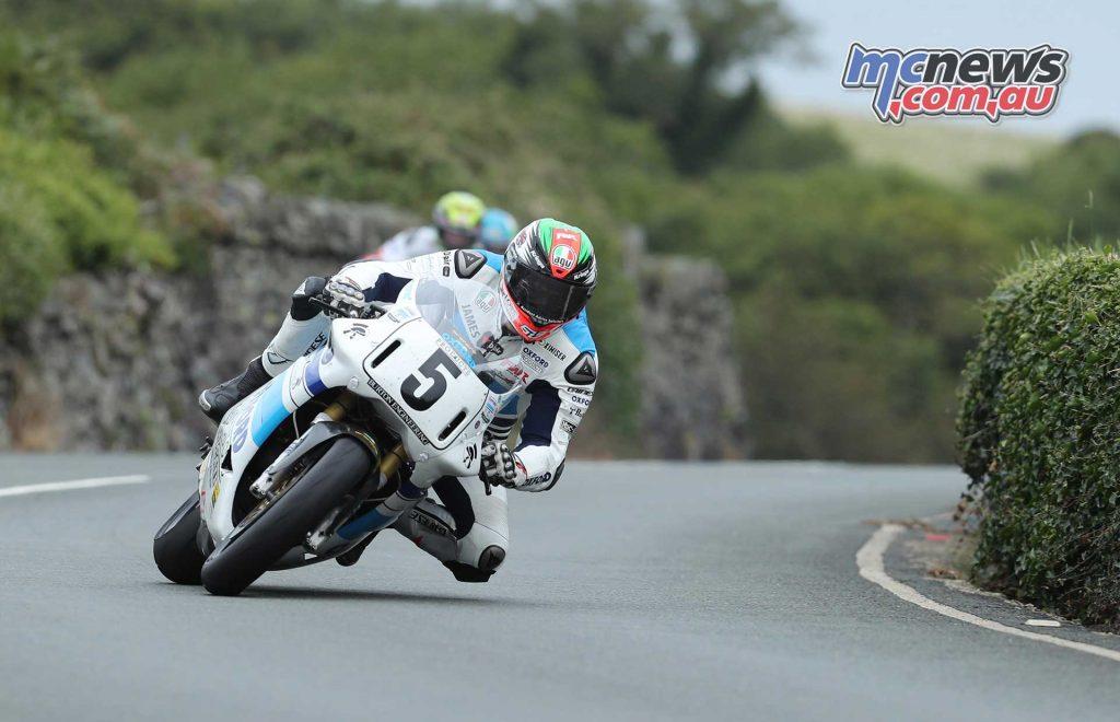 James Hillier Ducati Gooseneck