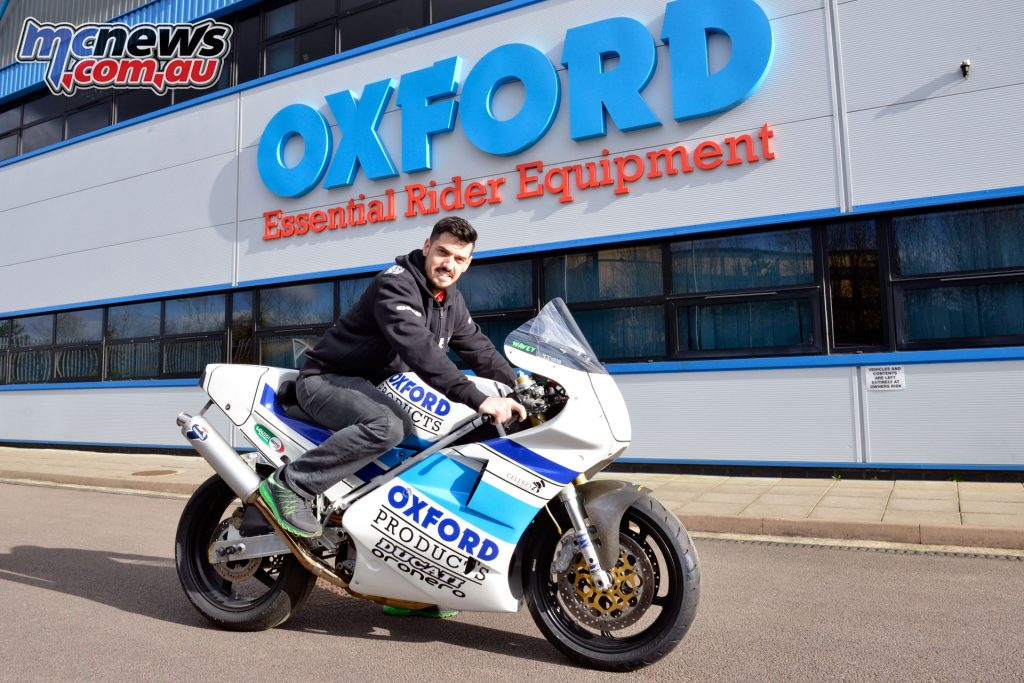 James Hillier Oxford Products Ducati