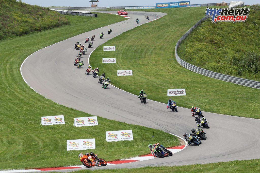 MotoAmerica Rnd Pittsburg Alex Dumas Saturday