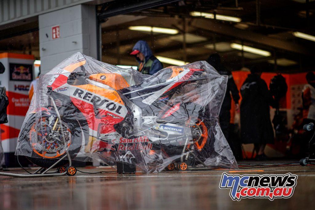 MotoGP Silverstone Cancelled Marquez AXS