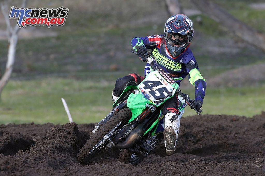 WJMX Horsham Australia MX Brad West