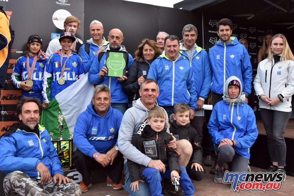 WJMX Horsham Australia Team Italy