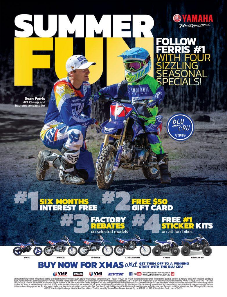 Yamaha Fun Bike Set for Summer Sale v