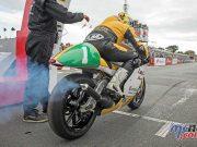 Yamaha TZ Classic TT Lightweigh Ian Lougher