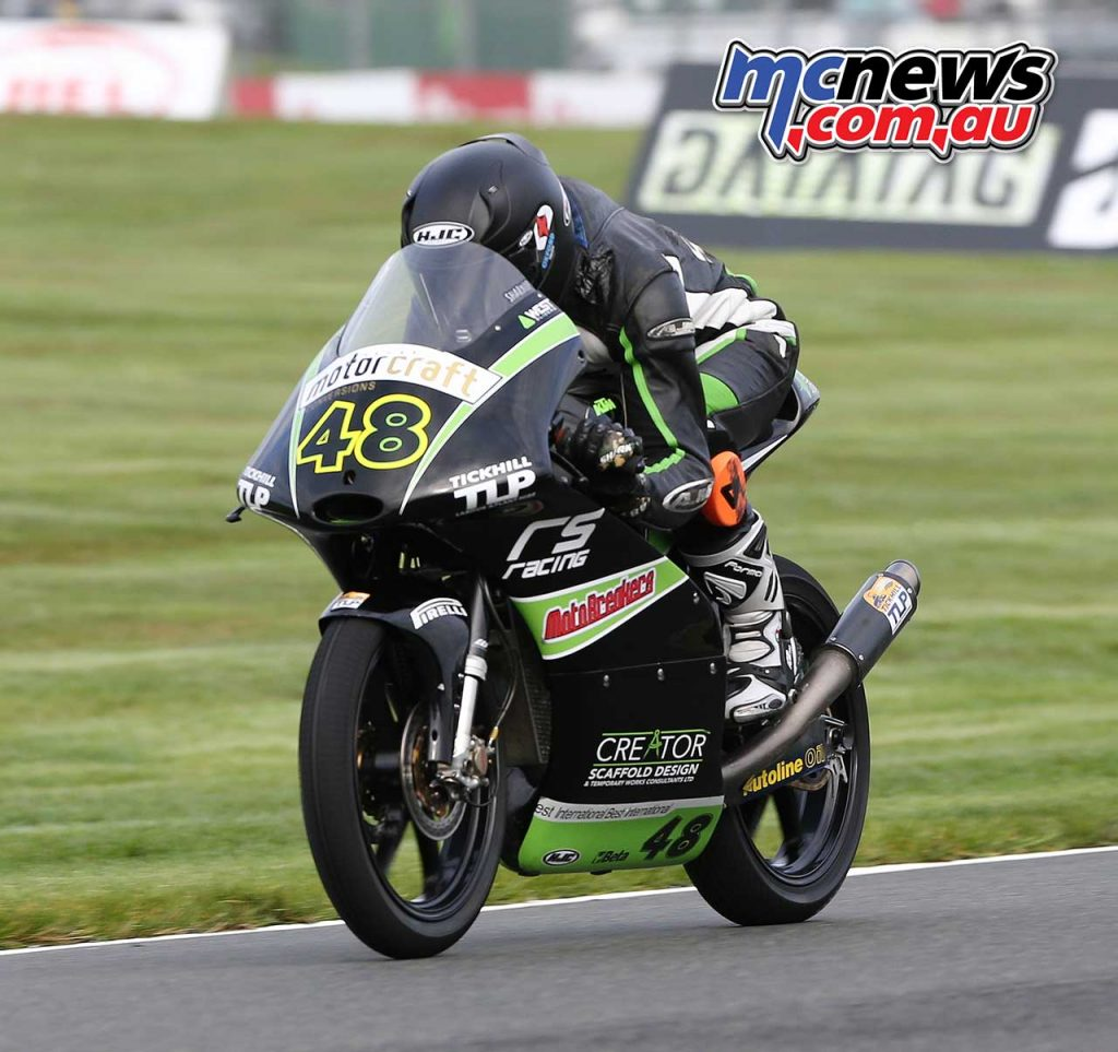 BSB Showdown Oulton Park Shani Pinfold in qualifying ImageDyeomans