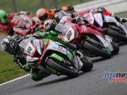 BSB Showdown Oulton Park Superbike Haslam Ohalloran ImageDyeomans
