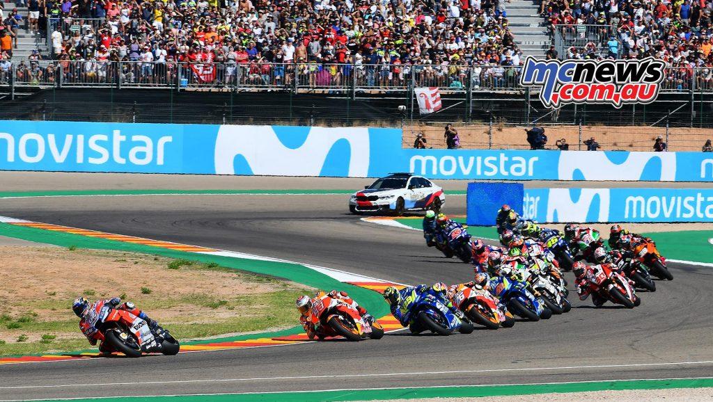MotoGP Aragon Mich Dovizioso Marquez Iannone