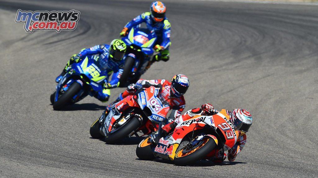 MotoGP Aragon Mich Marquez Dovizioso Iannone Rins