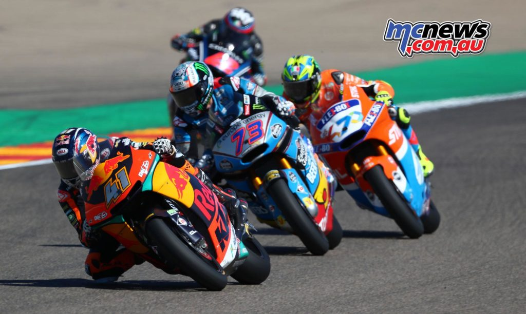 MotoGP Aragon Moto Binder GP AN