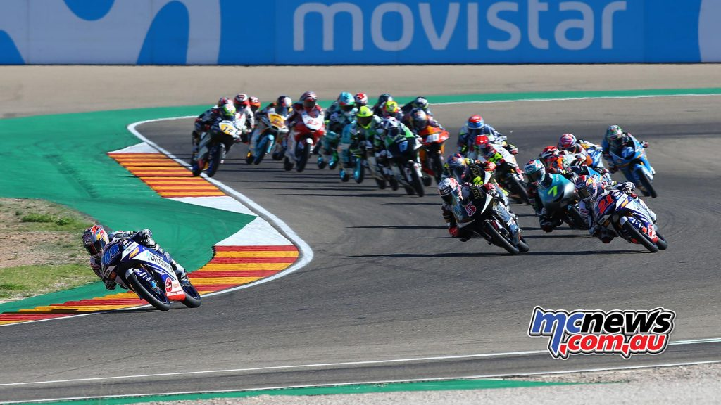 MotoGP Aragon Moto start GP AN