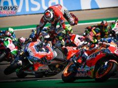 MotoGP Aragon Turn One Crash Lorenzo