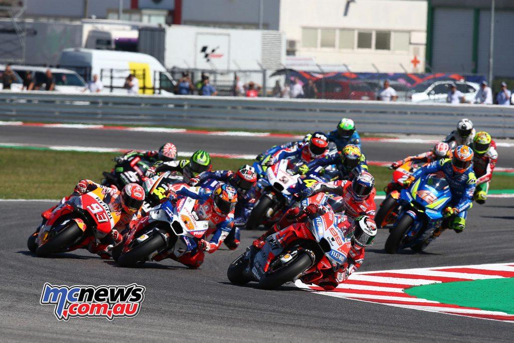 MotoGP Misano GPstart GP AN