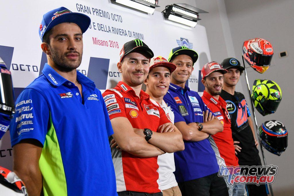 MotoGP Misano Pre Conf