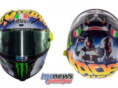 Rossi Back to the Future Part II AGV Pista GP R Helmet