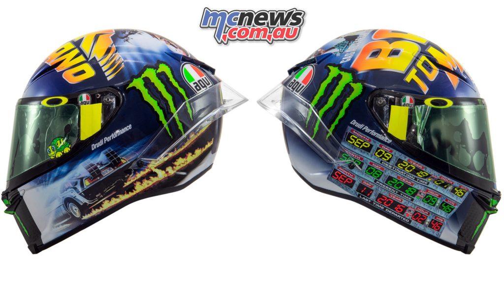 Rossi Back to the Future Part II AGV Pista GP R Helmet