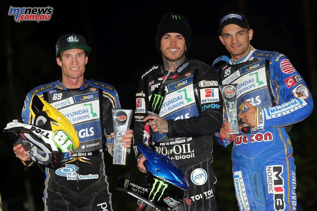 SGP Teterow Germany Podium