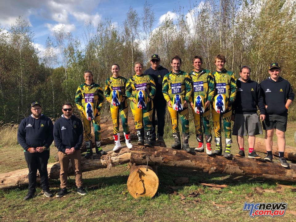 Trials des Nations Team Australia