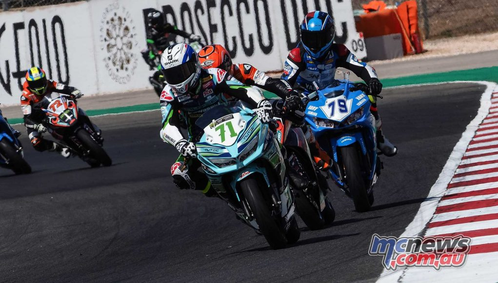 WorldSBK Portimao WSS Pole Tom Edwards