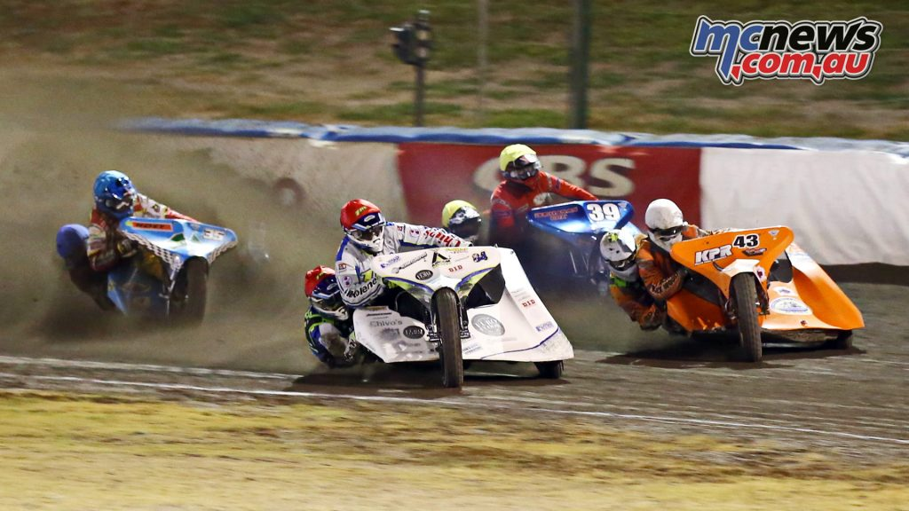 FIM Oceania Speedway Sidecar Championship to Gillman